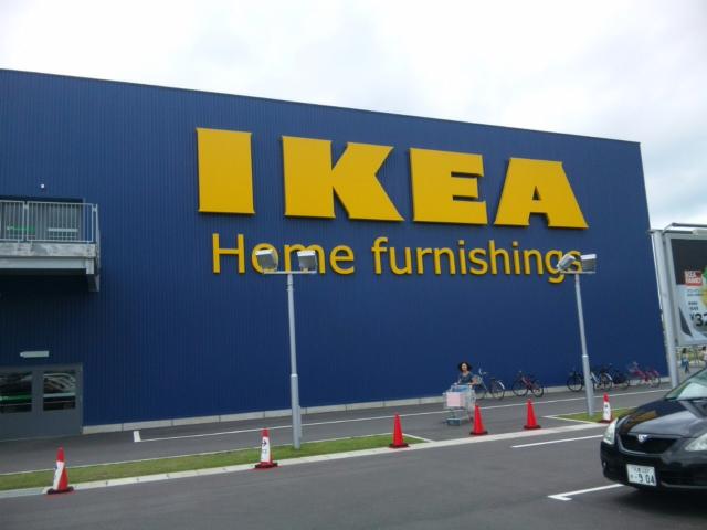 IKEAにきたよ